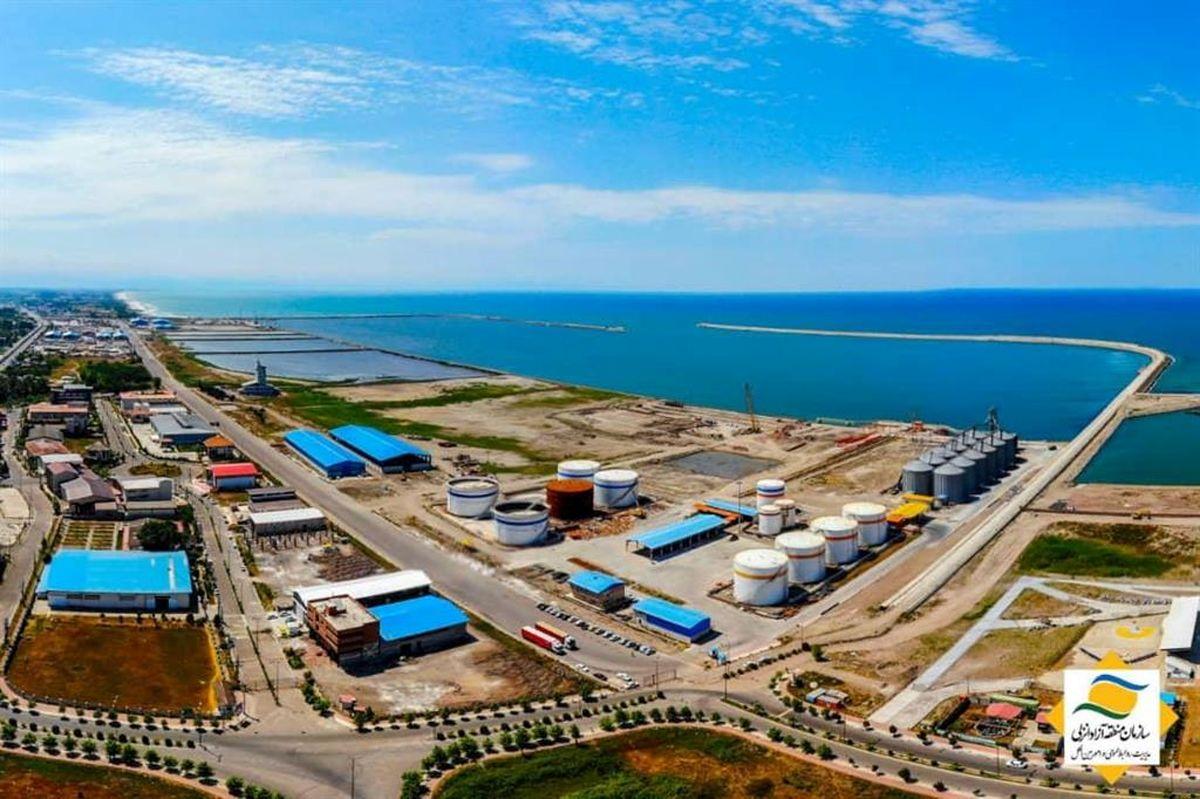 انعقاد قرارداد ساخت نخستین سردخانه منطقه آزاد انزلی توسط بخش خصوصی