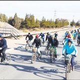 برگزاری همایش دوچرخه سواری در شرکت فولاد مبارکه و مجتمع فولاد سبا