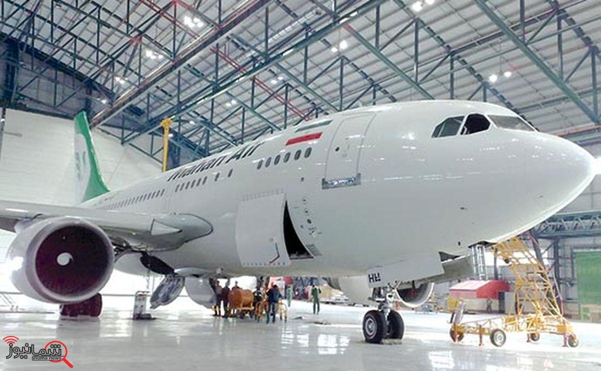 هواپیماهای کارکرده بیشتر وارد کشور میشود/ آسیبهای کرونا به صنعت هوایی ایران