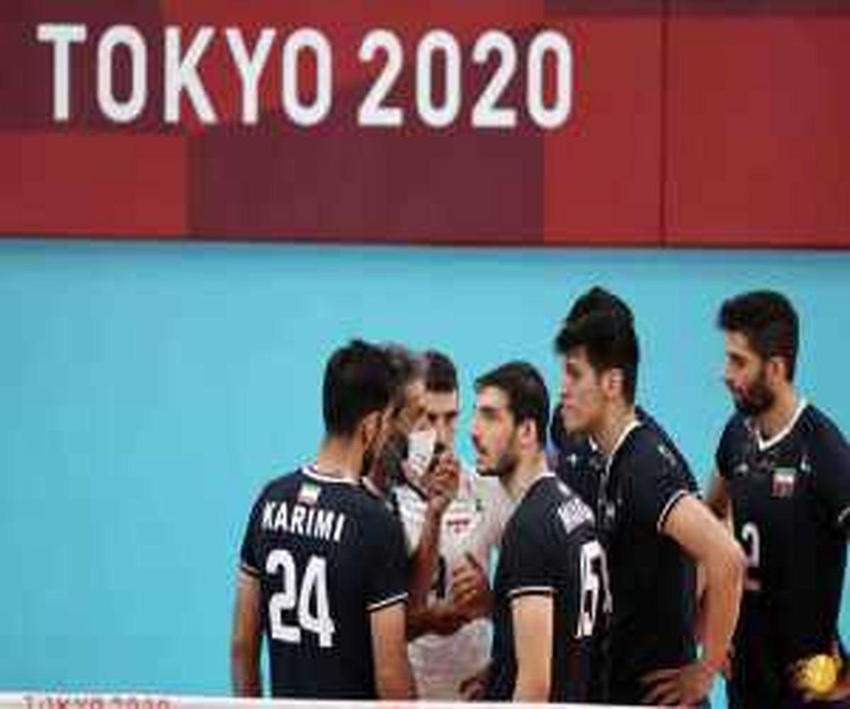 اشک های سعید معروف در المپیک + فیلم