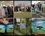 مراسم گرامیداشت روز درختکاری و یادبود درگذشتگان بیماری کرونا در شرکت مخابرات ایران برگزار شد