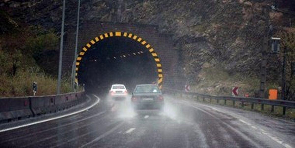 بارش شدید باران در 10 استان