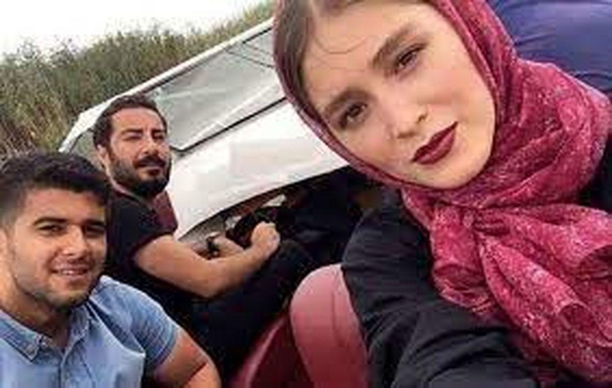 سفر فرشته حسینی بعد از عقد + عکس