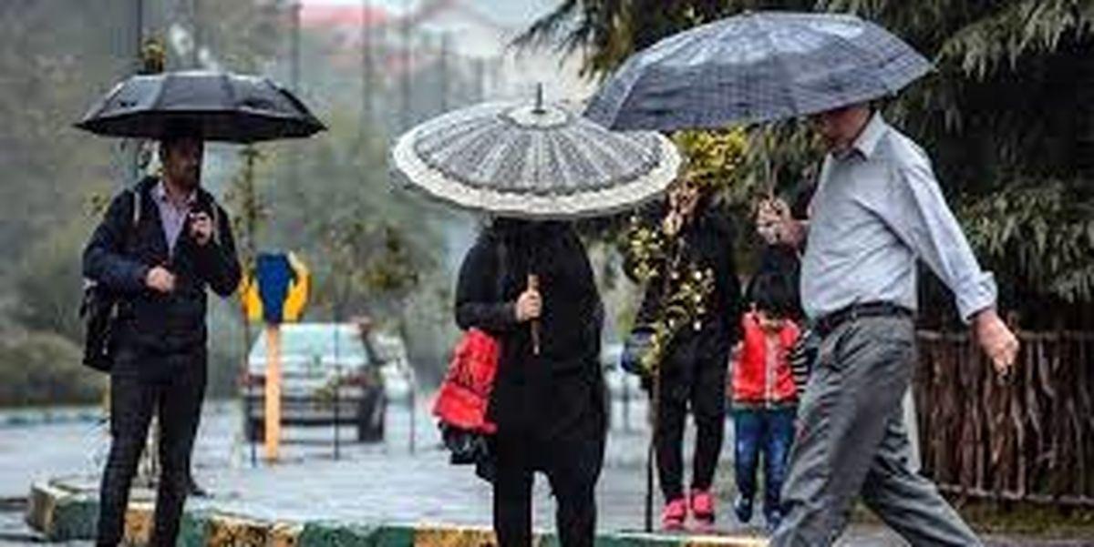 پایان هفته بارانی برای اکثر نقاط کشور