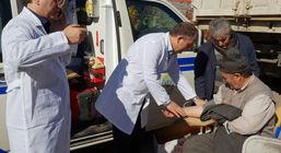 اعزام تیم پزشکی بیمارستان بانک ملی ایران به مناطق زلزله زده آذربایجان شرقی