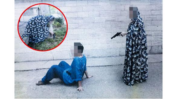 دختر یکی از تاجران بزرگ تهران از اعدام نجات یافت