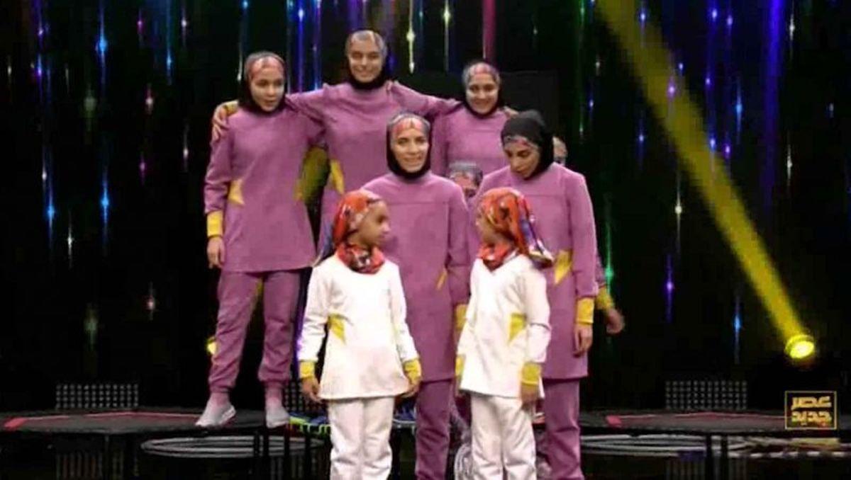 اجرای جنجالی گروه دختران پرواز در عصر جدید + فیلم