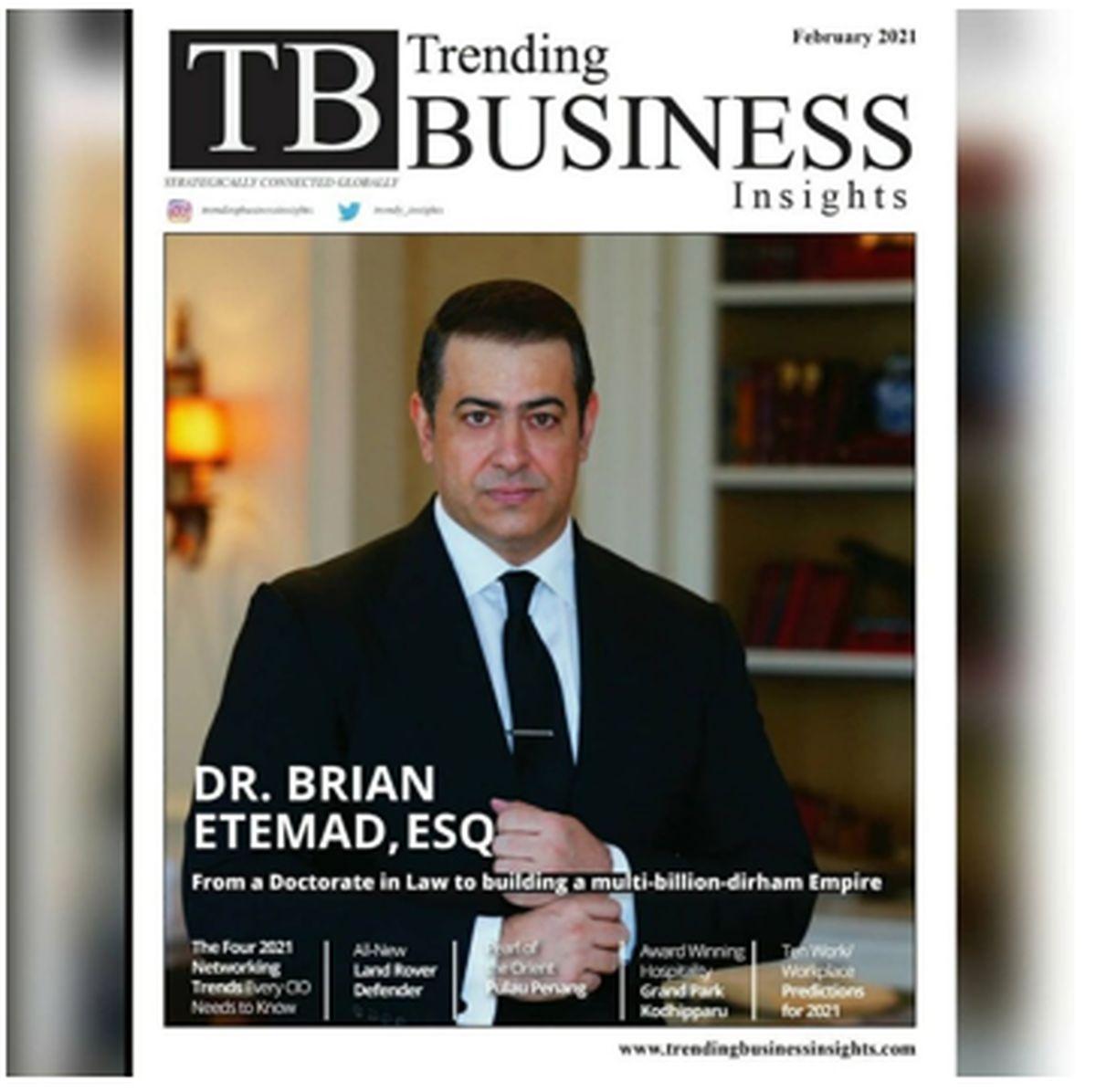 برایان اعتماد افتخار ایران