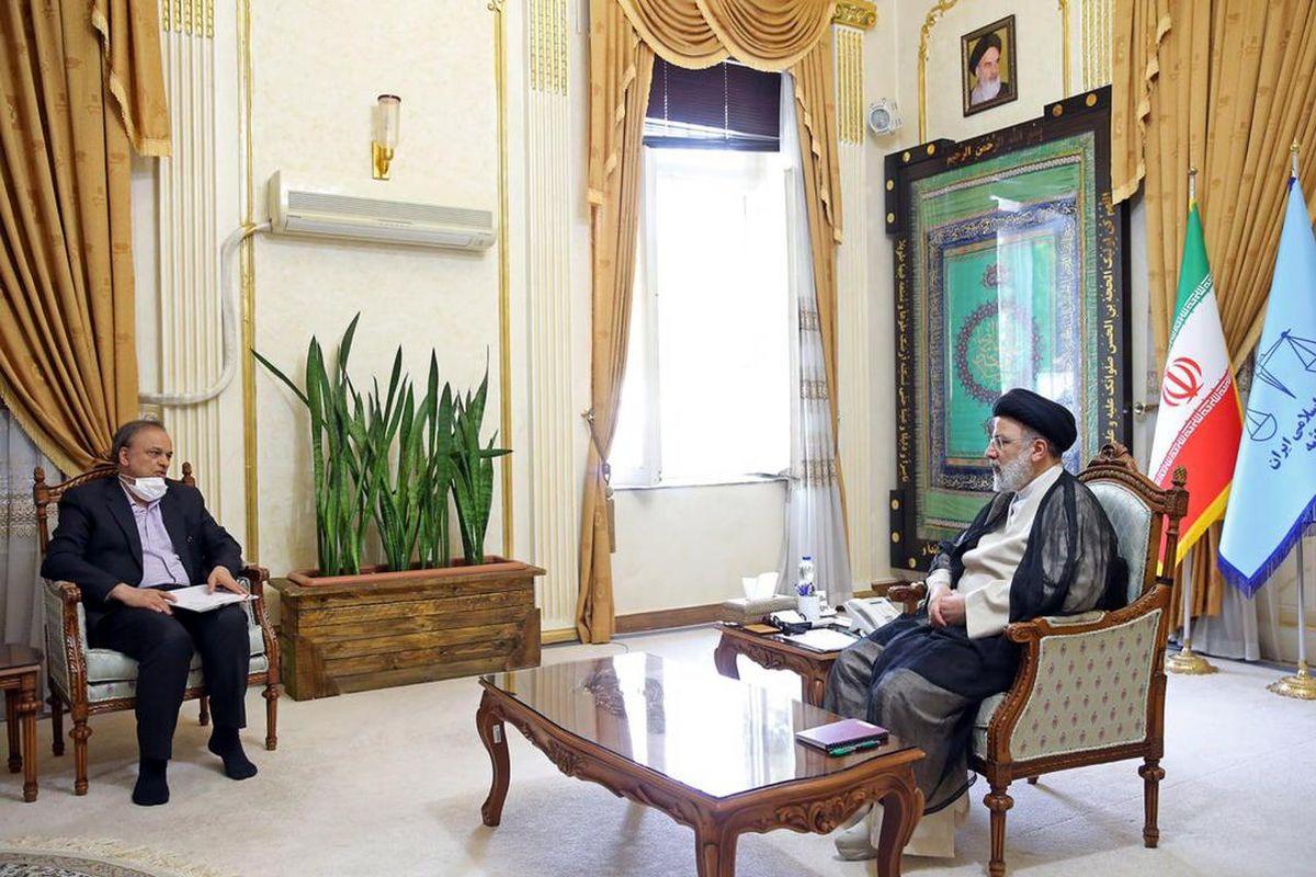 دیدار وزیر صمت با رییس جمهور منتخب