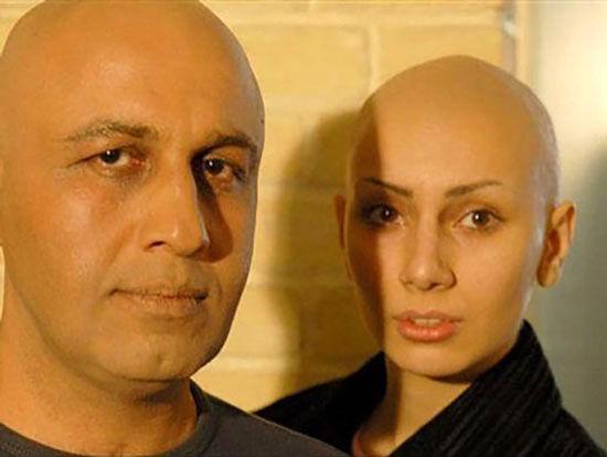 بازیگران زنی که موهای خود را تراشیدند