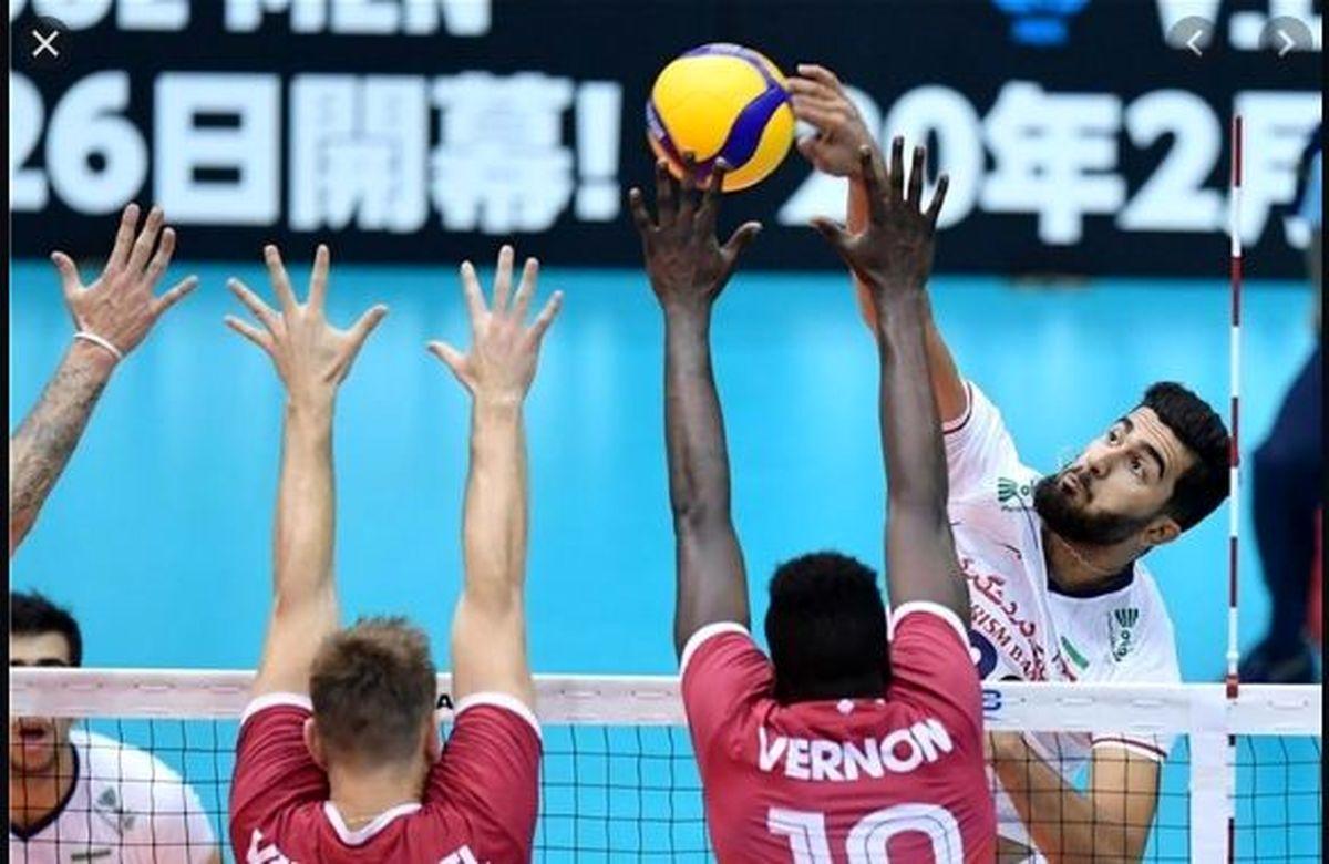 ساعت والیبال ایران و فرانسه مشخص شد