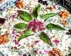 طرز تهیه آب دوغ خیار تبریزی اصل با خامه