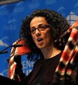 خانم مشهدی مسیح علی نژاد را در بی بی سی با خاک یکسان کرد! + عکس