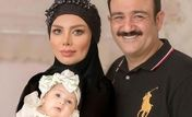 چهره پژمرده همسر مهران غفوریان در بیمارستان | همسر مهران غفوریان یک شبه پیر شد