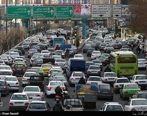 ترافیک پایتخت در اولین روز سال تحصیلی جدید