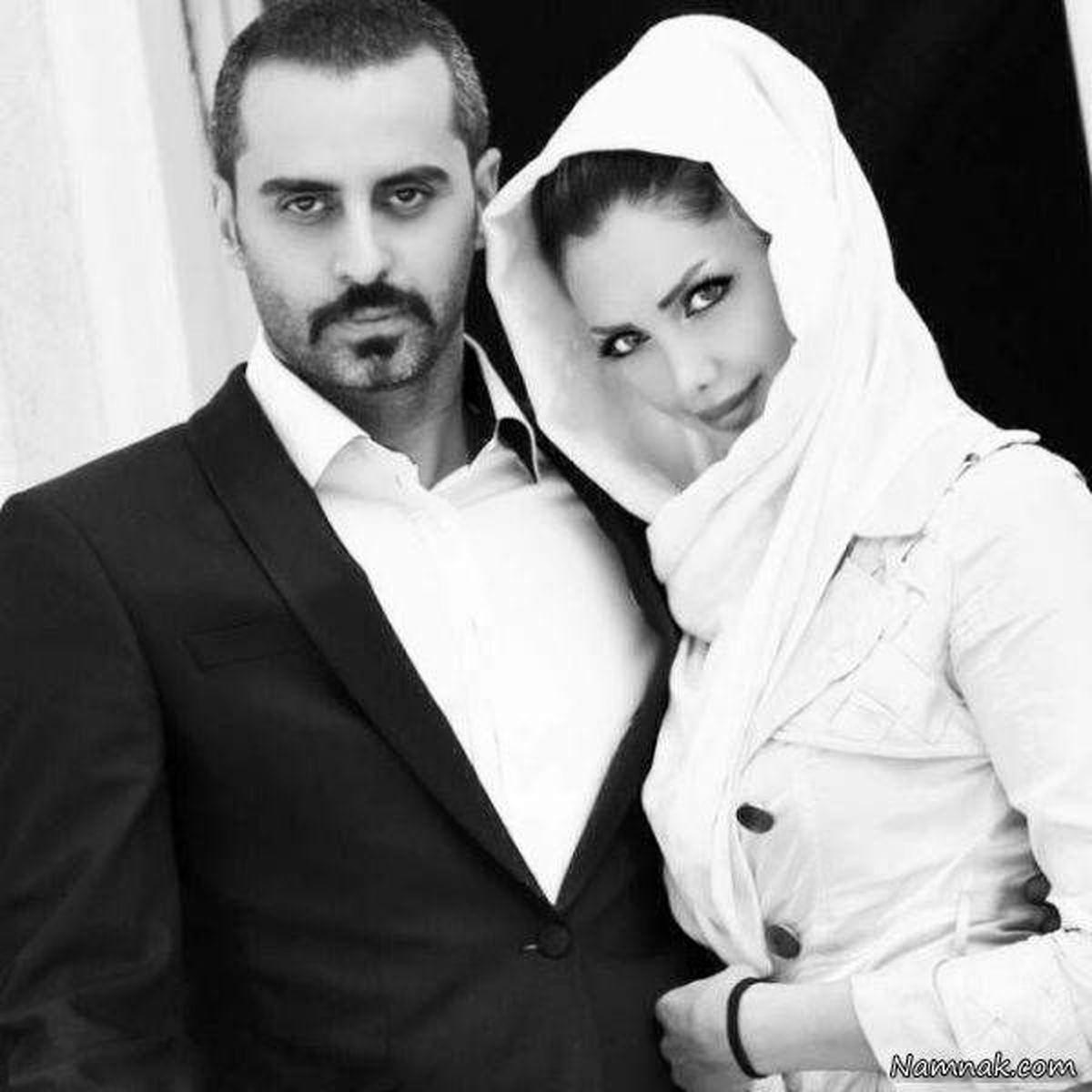 همسر مدلینگ علیرام نورایی   تصاویر علیرام نورایی و همسرش