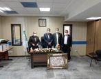 روسای پنج شعبه بیمه البرز معارفه شدند