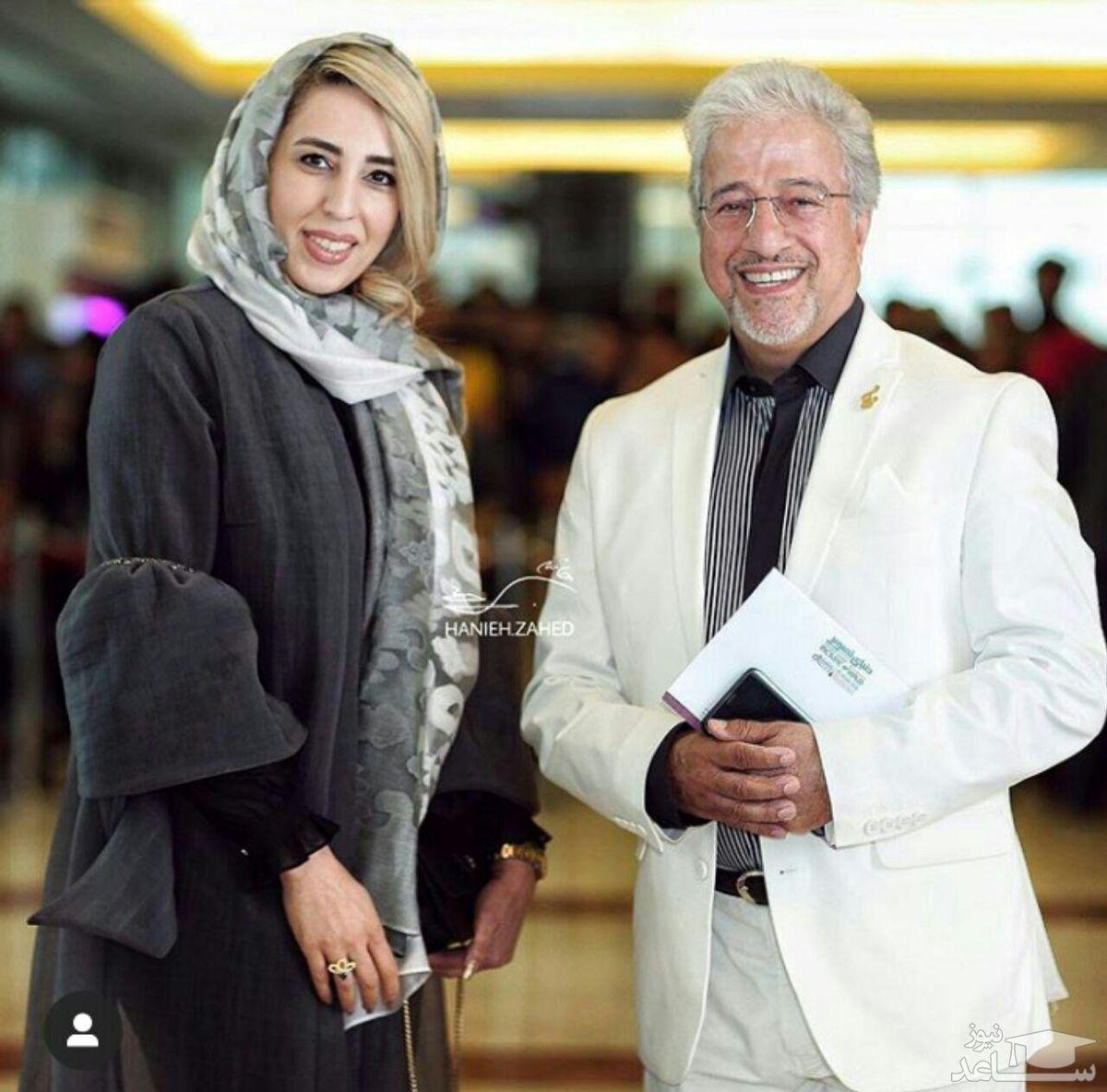 ازدواج دوم بابا پنجعلی با زنی جوانتر از خود + عکس