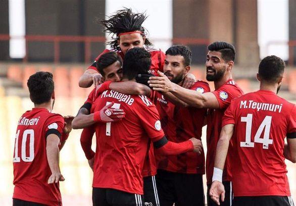 جام حذفی فوتبال| صعود تراکتور تبریز مقابل نود ارومیه