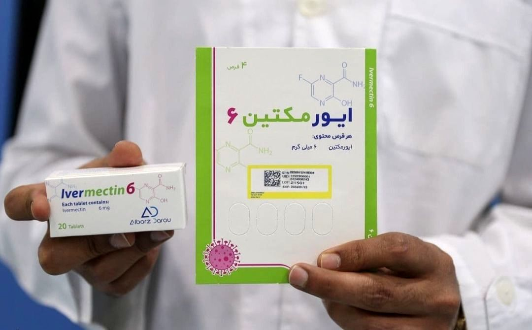 آغاز توزیع داروی آیوِرمِکتین ایرانی در سراسر کشور برای درمان بیماری کرونا