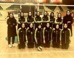 درخشش تیم والیبال بانوان پتروشیمی امیرکبیر در المپیاد ورزشی صنایع پتروشیمی کشور