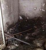 مرگ هولناک کارگر جوان در آتشسوزی اتاقک ۱۰ متری + تصاویر