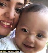 برادرزاده 3 ساله نرگس محمدی درگذشت
