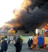 فیلم دیده نشده از لحظه آتش سوزی وحشتناک در شوش + فیلم