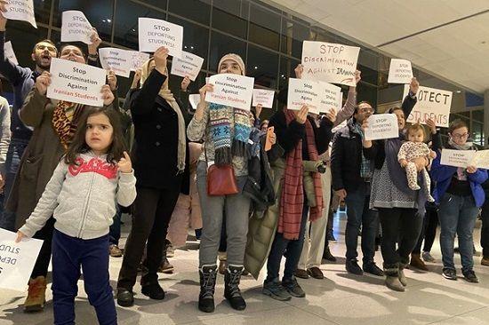 آمریکا یک دانشجوی ایرانی دیگر را بازداشت کرد