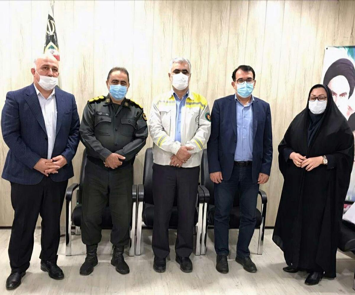 تقدیر مدیرعامل پتروشیمی اروند از سبزجامه گان نیروی انتظامی ماهشهر