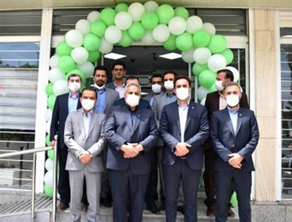 بازسازی و افتتاح شعبه مرکزی سنندج بانک مهرایران