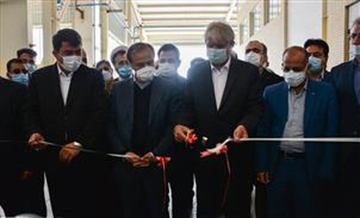 افتتاح شرکت های تعاونی تولیدی سیرنگ و یکتا گرانول میبد