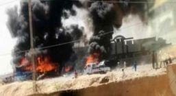 حمله تروریستی به نیروهای الحشد الشعبی در سامرا