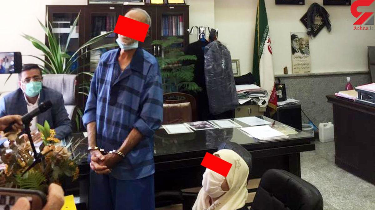 پدر بابک خرمدین: آزاد شوم دخترم آزیتا را هم خواهم کشت