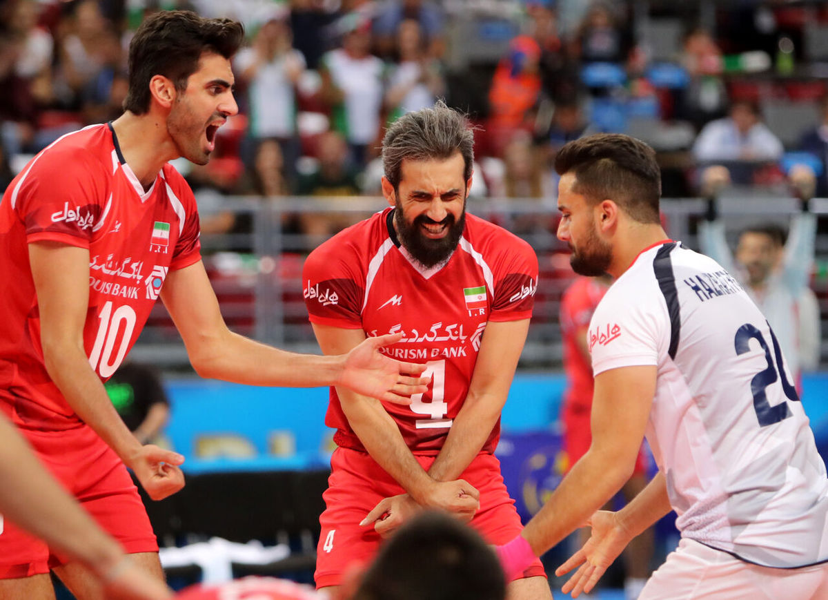ساعت بازی والیبال ایران – ایتالیا