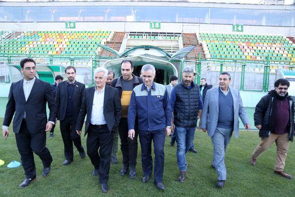 بازدید مسئولین هلدینگ شستا از باشگاه فرهنگی ، ورزشی ذوب آهن اصفهان