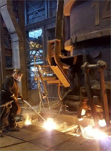 رکورد روزانه تولید فولاد سازی در فولاد خوزستان شکسته شد