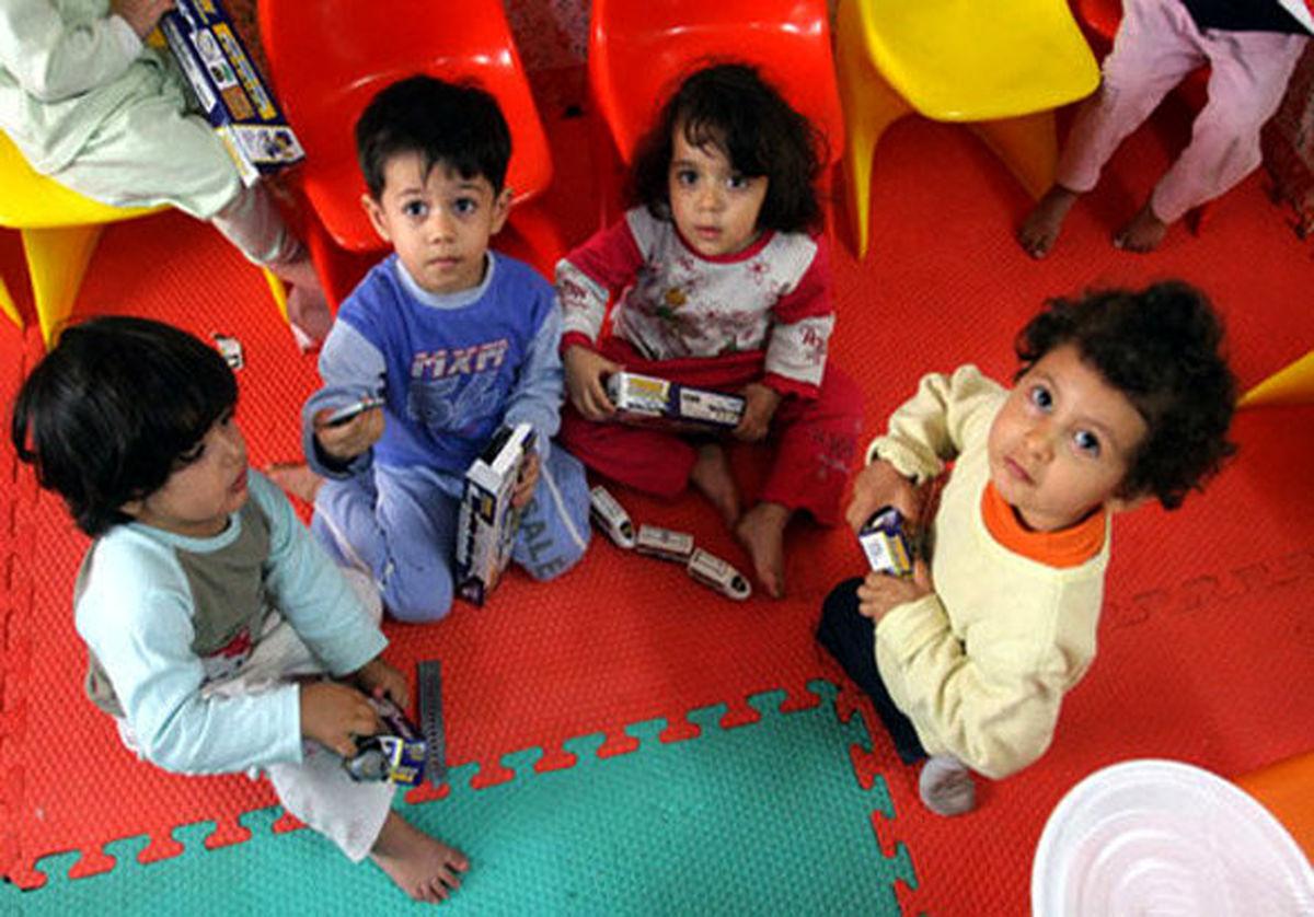 مهدهای کودک مجاز به پذیرش کودکان نیستند