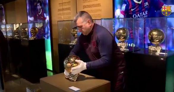 توپ طلاهای مسی وارد موزه شد!
