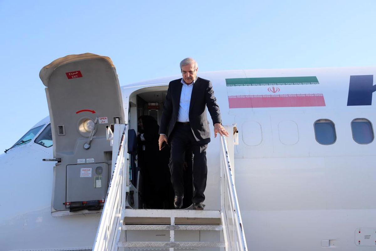مرتضی بانک به منطقه آزاد ارس سفر کرد