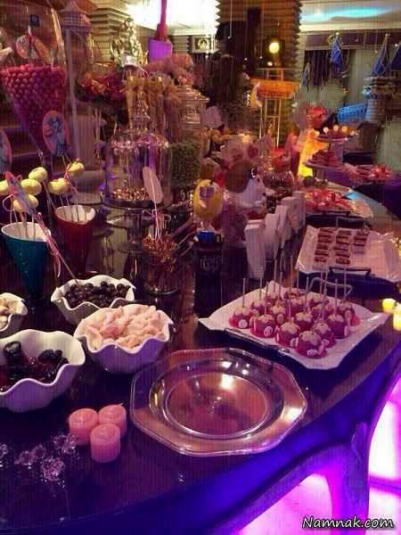 تصاویر جشن تولد دختر علی دایی