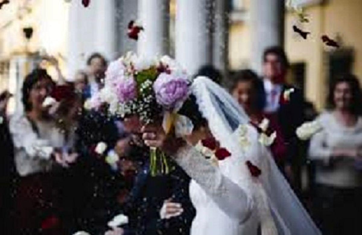 این زن با گاو نر به حجله رفت + عکس عروس و داماد