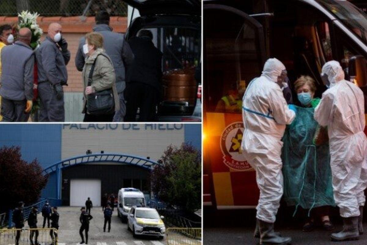 کرونا در جهان   آمار قربانیان کرونا در اسپانیا
