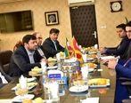 دیدار معاون وزیر زیر ساخت ترکیه با مهندس بنابی نایب رئیس هیات مدیره شرکت ارتباطات زیر ساخت
