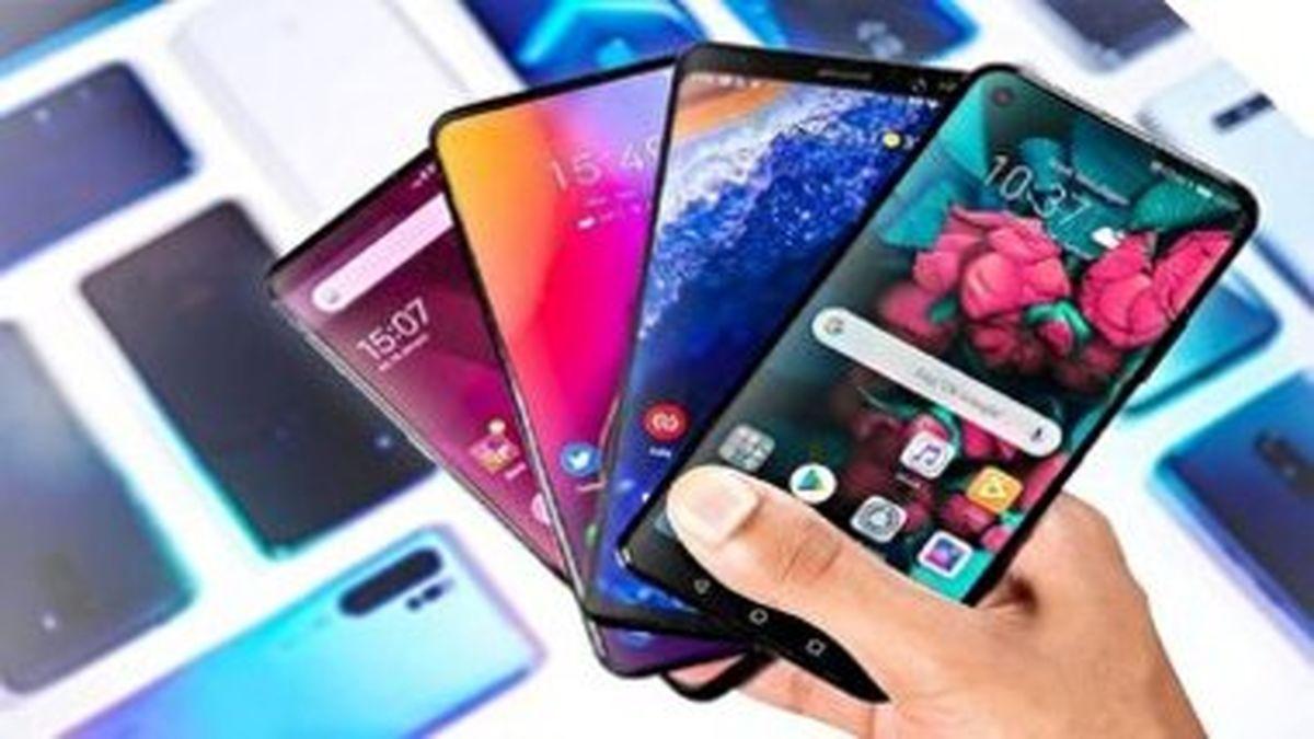 انواع گوشی های موبایل ۶ تا ۸ میلیون تومانی در بازار + جدول