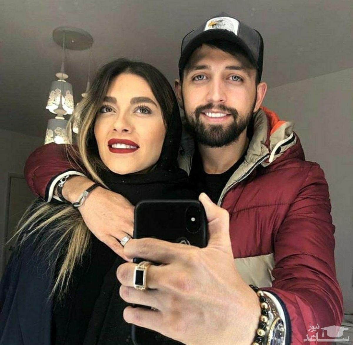 محسن افشانی همسرش را به جنگ دعوت کرد + جزئیات