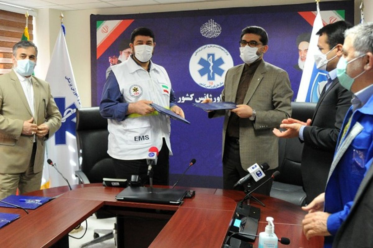 قرارداد تولید و تحویل ۲۰ دستگاه اتوبوس آمبولانس