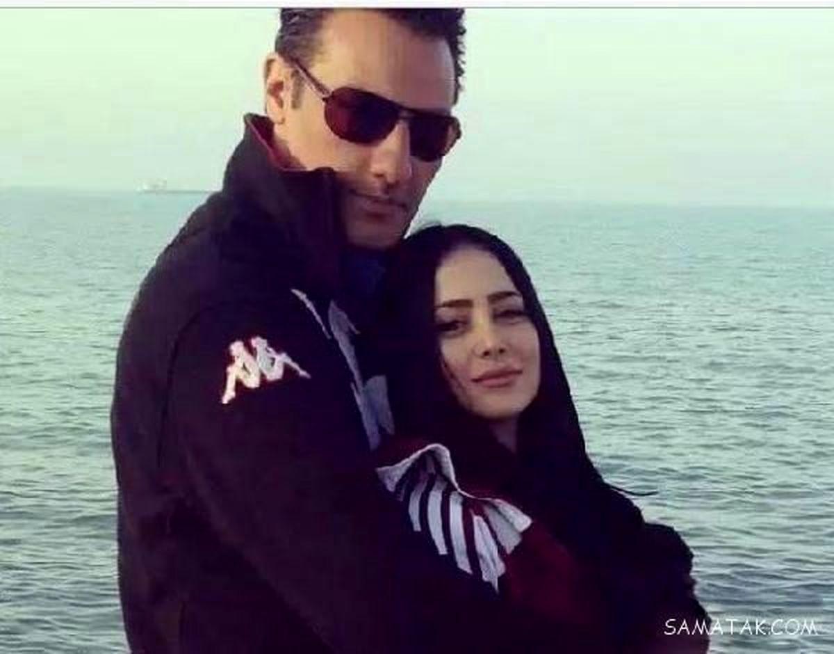 عکس های عاشقانه از الناز حبیبی و همسرش لب دریا + تصاویر و بیوگرافی