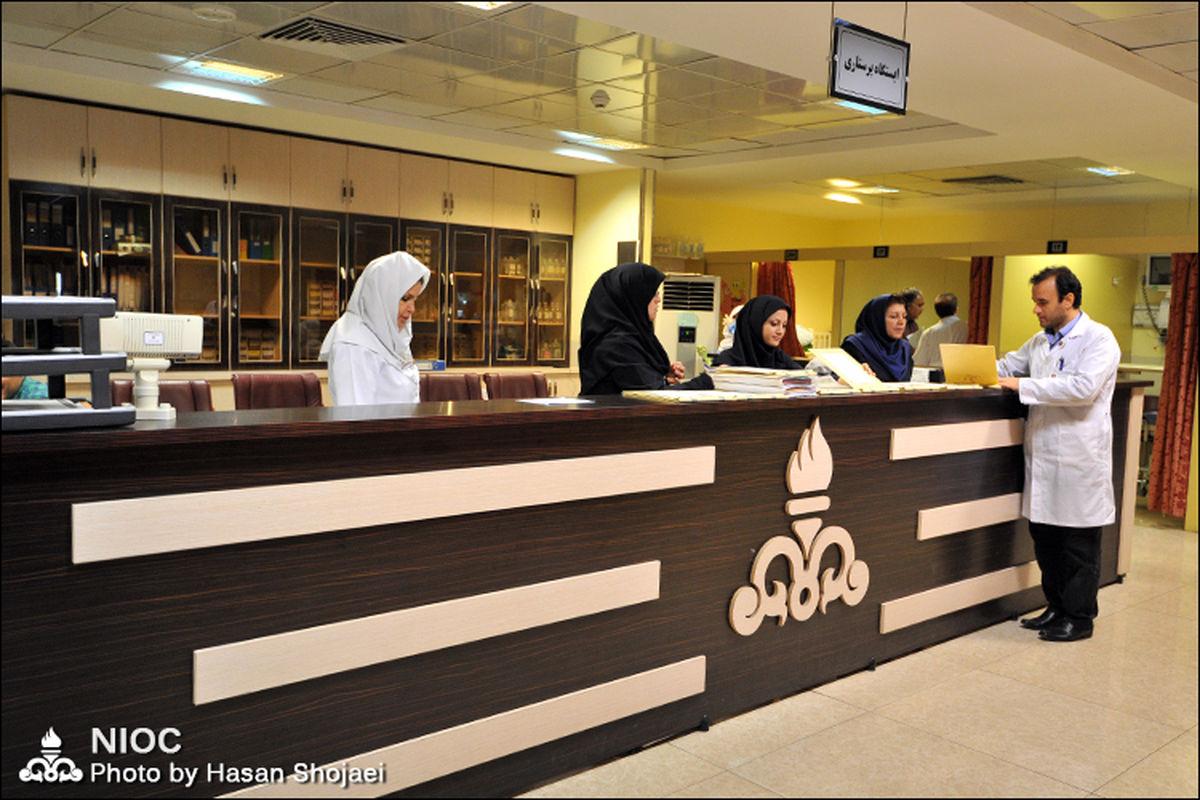 پشتیبانی ۲۴ ساعته از بیماران مبتلا به کرونا در بیمارستان نفت تهران