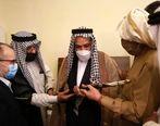 دیدار دبیر شورای عالی مناطق آزاد کشور با شیوخ و سران عشایر اروند